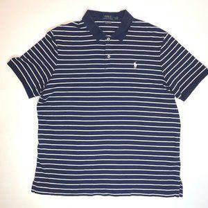 POLO RALPH LAUREN Polo Shirt, Size L